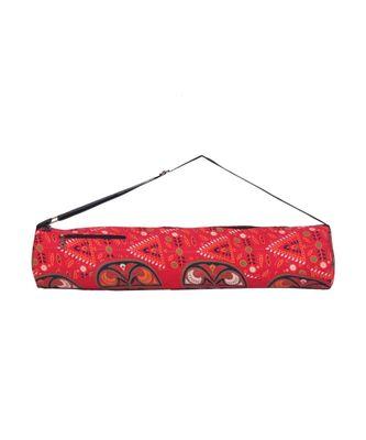 Indian Handmade cotton Red Mandala Yoga  Bag