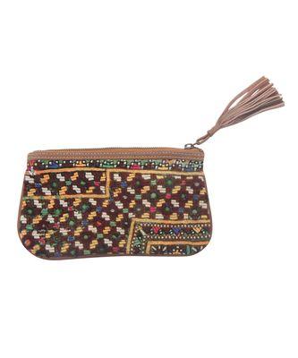 Women Multi-Colour cotton Clutch Hand Bag