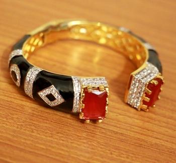 Red ruby bracelets