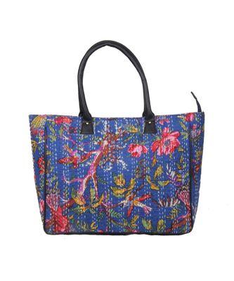 Vintage Handmade Bird kantah asian art Women Hand Bag