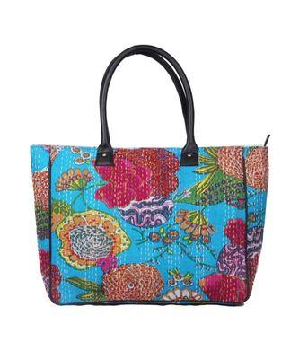 Vintage Handmade Pinapple printe asian art Women Hand Bag