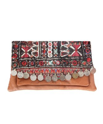 Women Multi-Colour cotton Clutch
