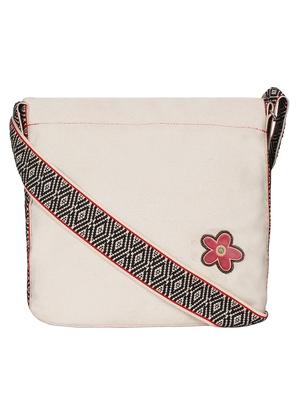 Anekaant Eva Natural Canvas Sling Bag