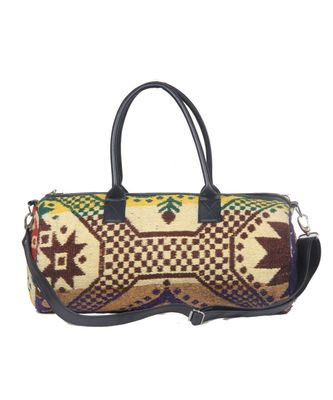 Vintage Handmade dari Made asian art Women Hand Bag