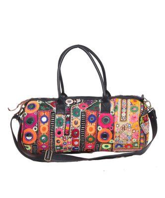 Vintage Handmade Gujrati Choli asian art Women Hand Bag