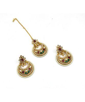 mang tika earring set