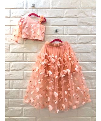3D BUTTERFLY SKIRT AND TOP