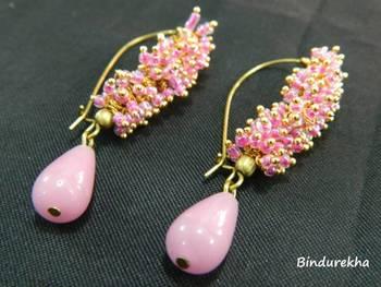 PinkGhungrooEarrings