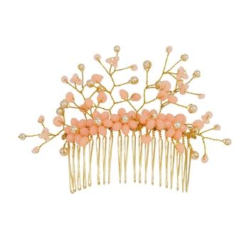 Orange pearl hair-accessories