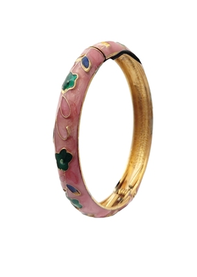 Pink cubic zirconia bangles-and-bracelets