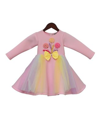 Baby Pink Candy Dress
