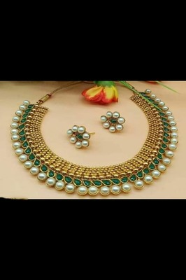 Green necklaces