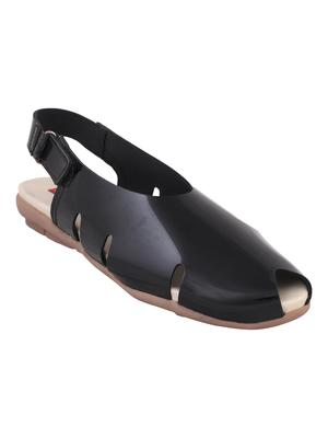 leatherette Stylish pink Flat Sandal For Women