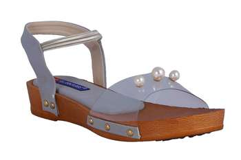 Women Grey  Sandals
