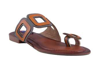 Women brown one toe  Sandal