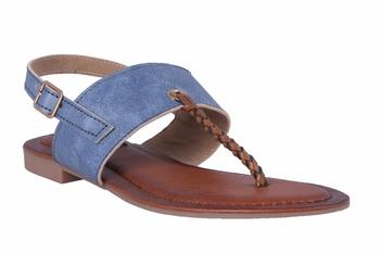 Women  Blue Sandals