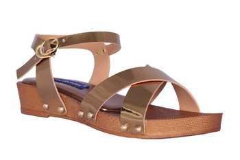 Women  Gold Sandal