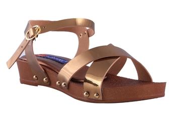 Women  Copper Sandal