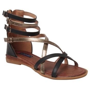 women beige  closed back  flat sandals