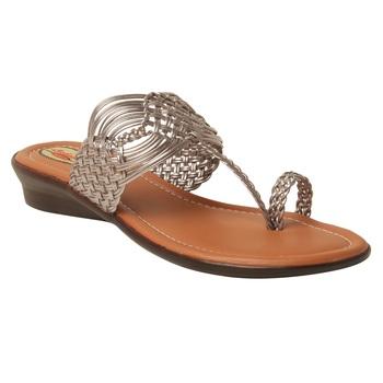 Women Synthetic Grey sandal