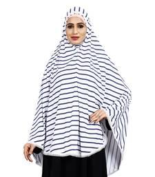 Justkartit Women Stitched Viscose Lycra Chaderi Hijab With Lace Work