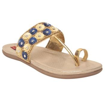 Women White Synthetic Sandal