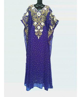 purple  COLOR EMBRODERY FARASHA