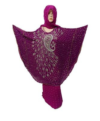 purple  COLOR HANDMADE PONCHO SYLE ABYA WITH SCARF AND LEGGING