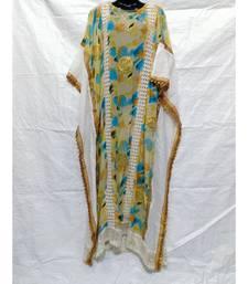 Mix Color Cotton Night Abaya