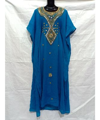 Sky Blue Color India Kafan