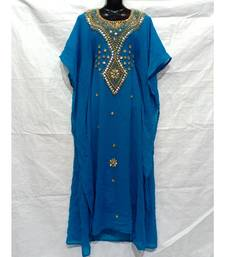 Sky Blue Color India Kafan