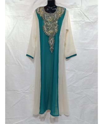 MIX COLOR COTTON NIGHT ABAYA