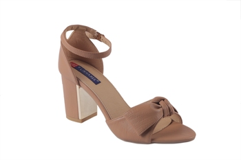 Women Synthetic brown  Sandals ankle strap