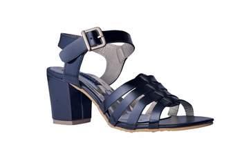 Women Synthetic Black  block Heels