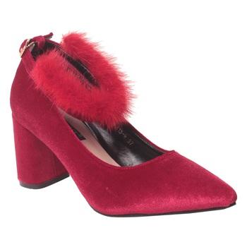 Women Black Synthetic Heels