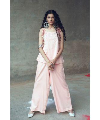Pink    Lata    two piece set