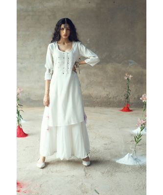 """Some"" kurta-Skirt Set"