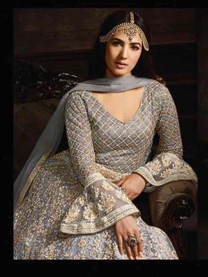 Multicolor Anarkali Party Wear Designer Suit