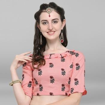 Women's Rayon Stitch Blouse