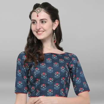 Women's Poly Silk Stitch Blouse