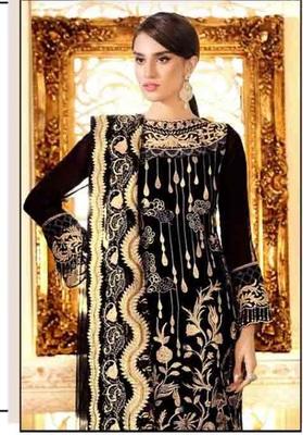 Black Party Wear Designer Pakistani Suit