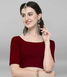 Women's Cotton Lycra Stitch Blouse