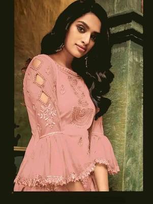 Pink Evening Wear Designer Pakistani Suit