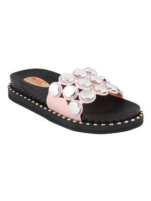 rubber Stylish Fancy white Platform Sandal For Women