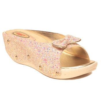 women Synthetic Pink Sandals