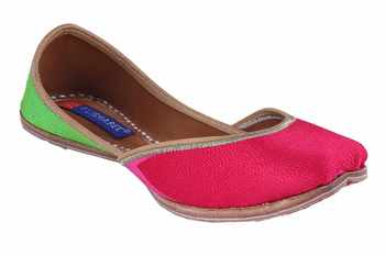 multi color  slip on jutis