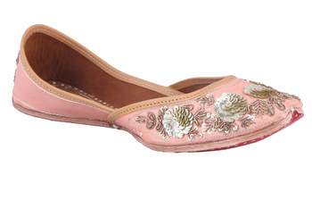 MSC-Women pink slip on jutis