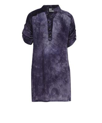 grey cotton regular kurti