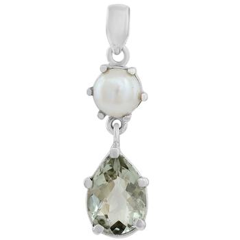 Multicolor pearl pendants