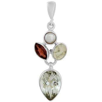 Multicolor garnet pendants